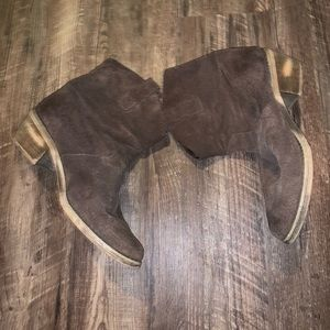 Ecote brown booties